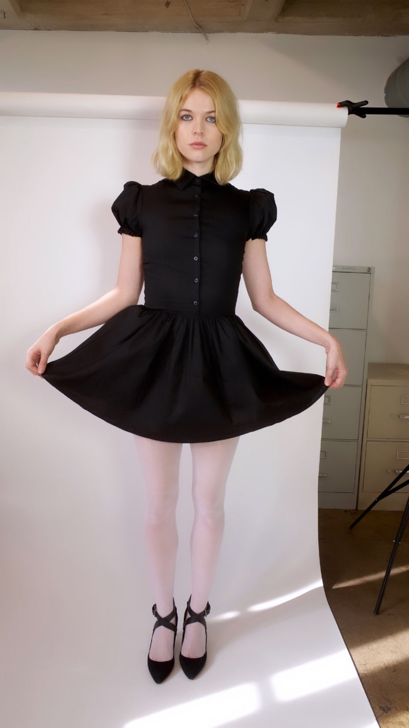 Baby Doll Dress (Black)