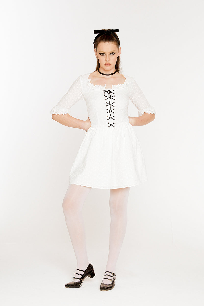 The Marquise Eyelet Dress