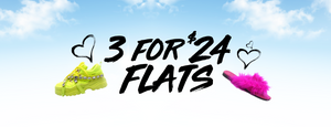 3 for $24 FLATS