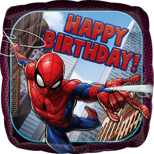Birthday Spiderman Balloon