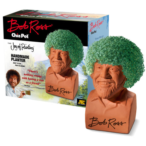 CHIA PET BOB ROSS