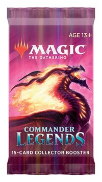 Magic the Gathering - Commander Legends: Collector Booster Pack
