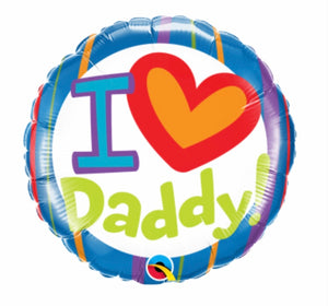 I ❤️ Daddy Balloon