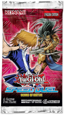 Yu-Gi-Oh Speed Duel: Scars of Battle Booster Pack