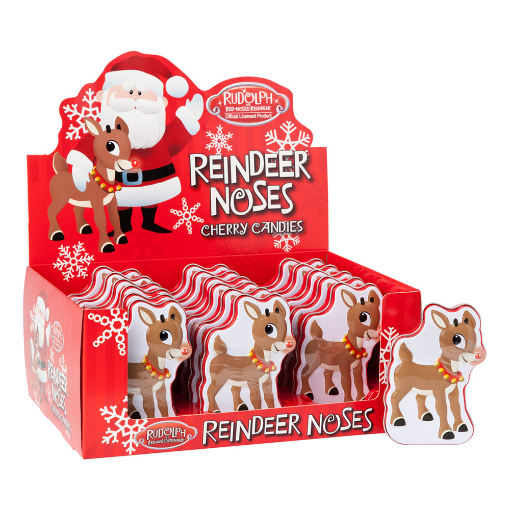 Reindeer Noses Cherry Candies