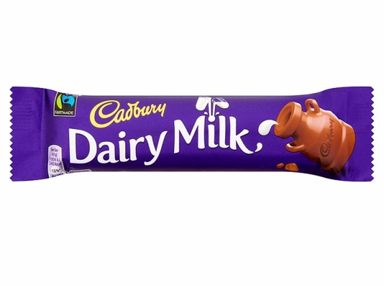 British Cadbury Milk Chocolate Sweet Thrills