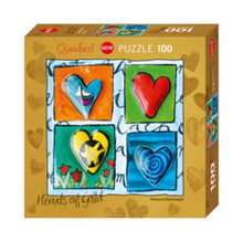 HEARTS OF GOLD PUZZLES