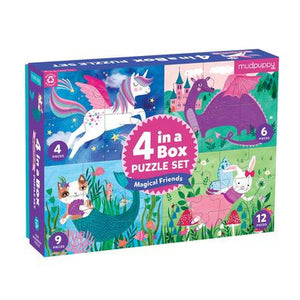Magical Friends 4-in-1 Puzzle Sweet Thrills Toronto