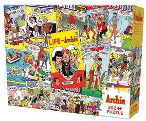 ARCHIE COVERS PUZZLE 500 PCS