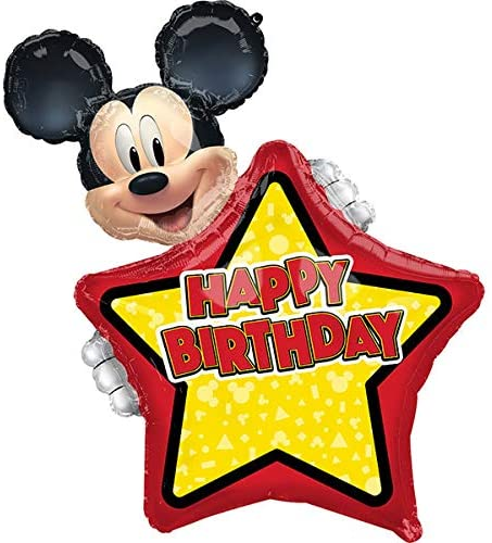 Personalized Mickey Balloon
