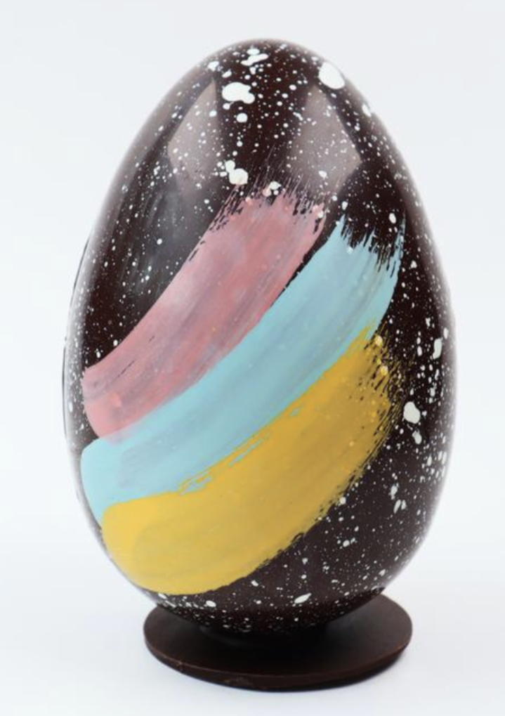 Handmade Chocolate Easter Egg-Paint (Vegan)