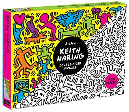 (1000 pcs) Double-Sided Keith Haring Puzzle