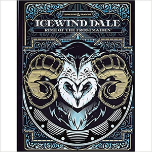 D & D: Icewind Dale - Rime of the Frostmaiden (Alternative Cover)