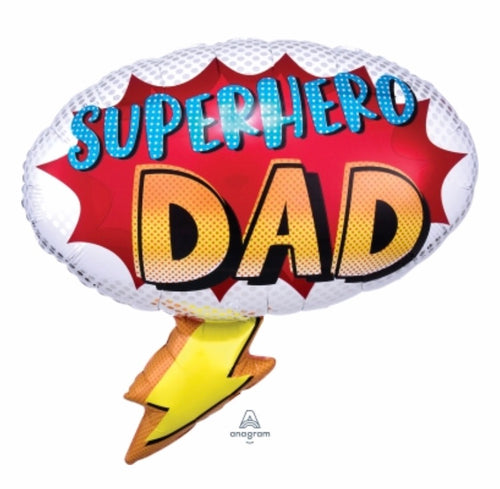 Super Hero Dad Balloon