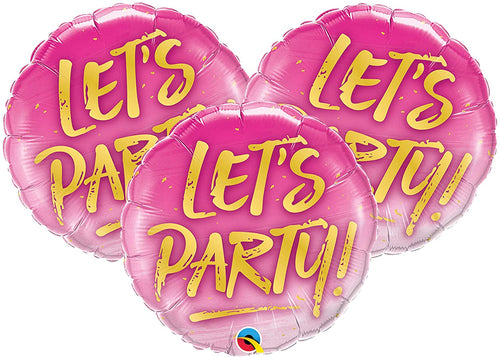 Let's Party Balloon