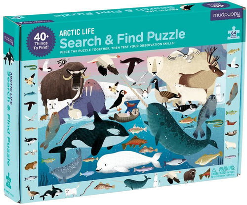 Search-and-Find Arctic Life Puzzle