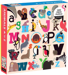 (500 pcs) Animals A to Z