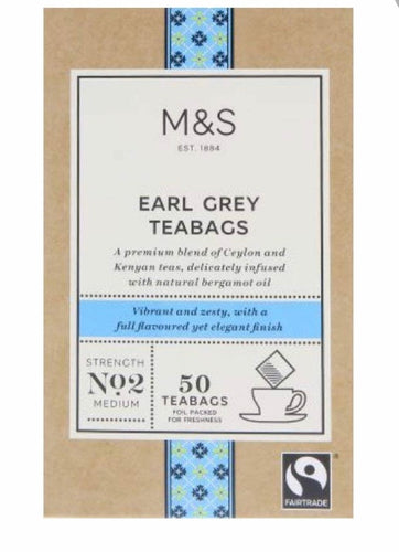 Marks and Spencer Earl Grey Tea Bags