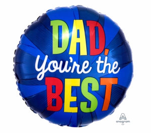 Dad You're the Best Balloon