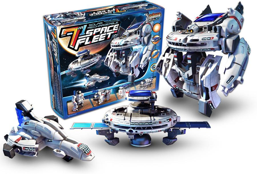 7 in 1 Rechargeable Space Fleet