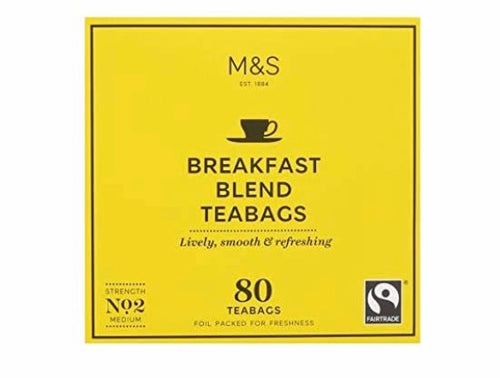 Marks and Spencer Breakfast Blend Tea Bags