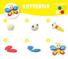 AIR DOUGH SMALL BUTTERFLY