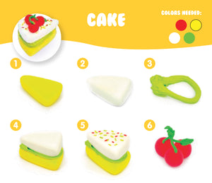 AIR DOUGH SMALL CAKE
