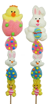 CANDY KEBOBS EASTER MARSHMALLOW