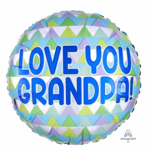 Love You Grandpa Balloon