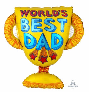 World's Best Dad Balloon