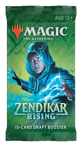 Magic the Gathering - Zendikar Rising Draft Booster Pack