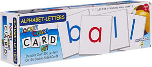Alphabet Letters Pocket Chart Cards