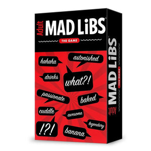 Adult Mad Libs Game Sweet Thrills Toronto