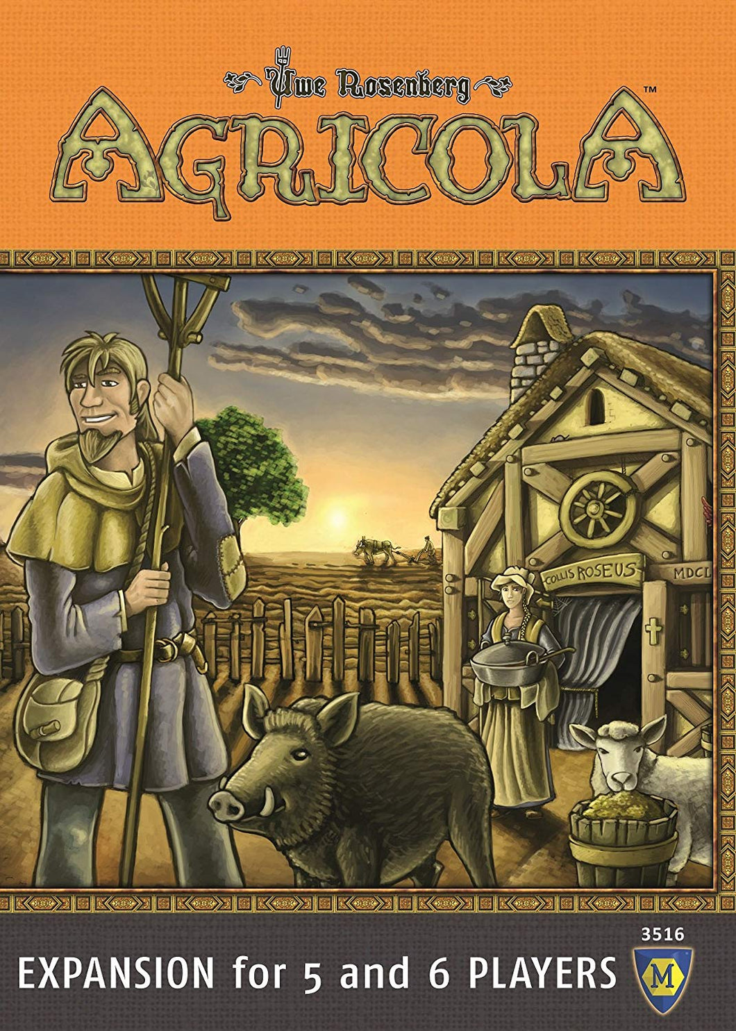 Agricola: 5 - 6 Players Expansion