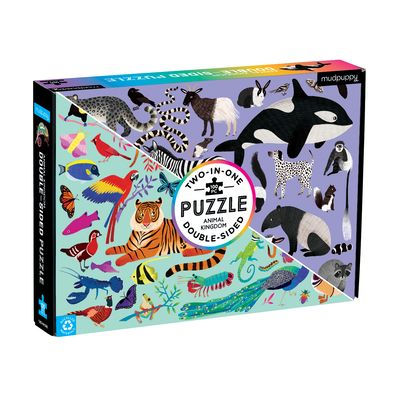 Double Sided Animal Kingdom Puzzle Sweet Thrills Toronto