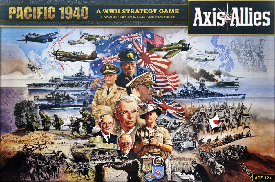 Axis and Allies: Pacific 1940