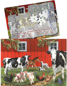 Red Barn Farm puzzle