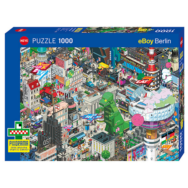 (1000 pcs) Berlin Quest