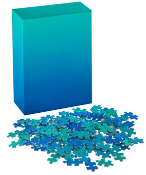 Gradient Puzzle Blue to Green Sweet Thrills Toronto