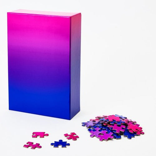 Gradient Puzzle Blue to Pink Sweet Thrills Toronto