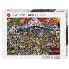 (2000 pcs) British Music History Puzzle