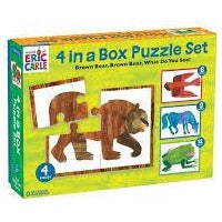 Brown Bear, Brown Bear, What Do You See? 4-in-1 Puzzle Sweet Thrills Toronto