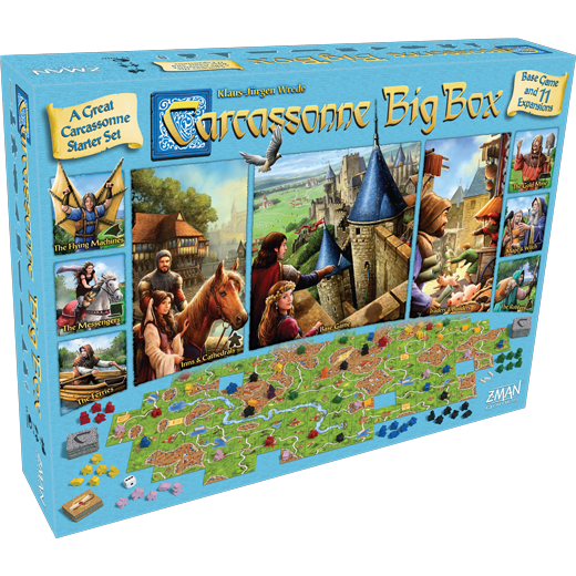 Carcassone: Big Box