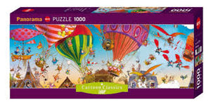 (1000 pcs) Hot Air Balloon Panorama