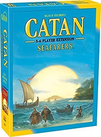 The Settlers of Catan Seafarers 5-6 Player Extention