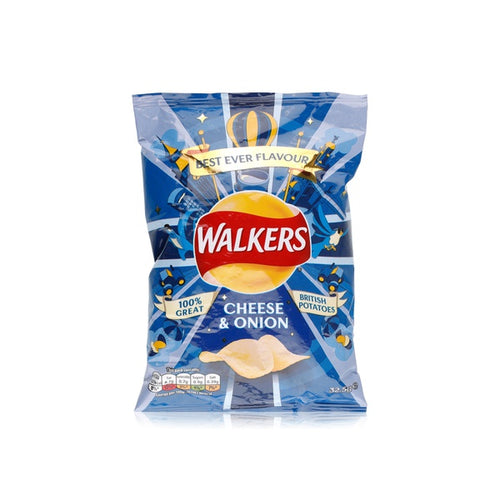 Walkers Cheese & Onion Crisps Sweet Thrills Toronto