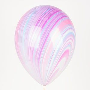 "12"" Marbleized Balloon"