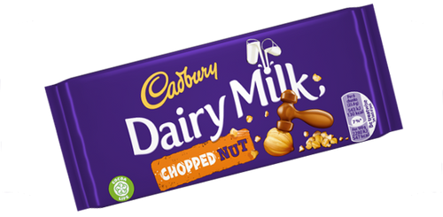 Dairy Milk: Chopped Nut (95g)