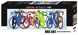 (1000 pcs) Colourful Row Panorama Puzzle