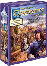 Carcassonne Count, King and Robber Expansion Sweet Thrills Toronto
